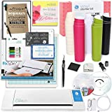 Silhouette CAMEO Starter Bundle with Vinyl Kit, Pixcan Mat, Cutting Blade, Glitter Pens, Starter Guide, Tools and More