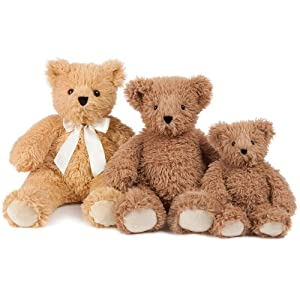 Vermont Teddy Bear Stuffed Teddy Bear - Stuffed Animal Bear, 20 Inch, Golden Brown, Super Soft (Color: 20 Brown Bear, Tamaño: 20 inches)