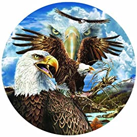 13 Eagles 1000pc Jigsaw Puzzle by Steven Michael Gardner