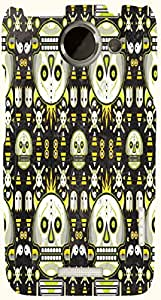 Marvelous multicolor printed protective REBEL mobile back cover for HTC One X+ ( X Plus ) D.No.N-T-4450-htcX
