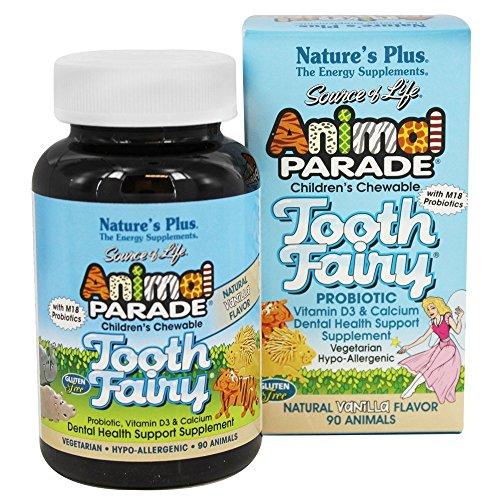 Nature's Plus - Childrens - Animal Parade Tooth Fairy 90
