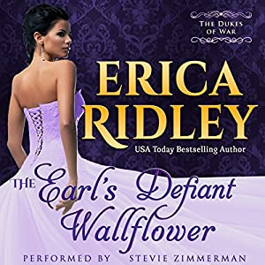 The Earl's Defiant Wallflower Audiobook