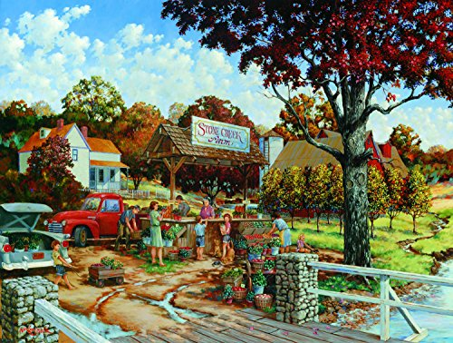 Stone Creek Farm 300 Pc Jigsaw Puzzle by Sunsout