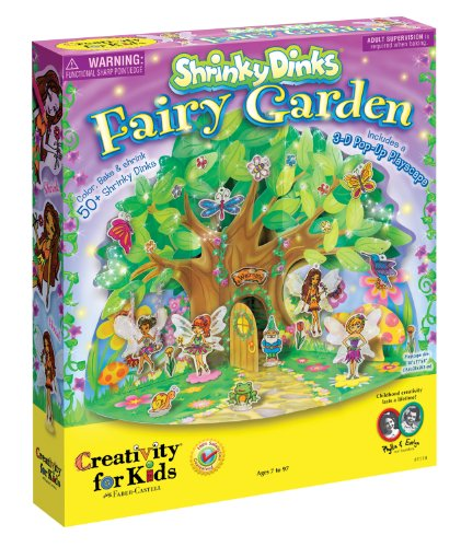 Creativity For Kids Shrinky Dinks Fairy Garden front-256935