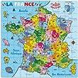Vilac - 2603 - Puzzle - Carte de France en Valise - 144 Pi�ces