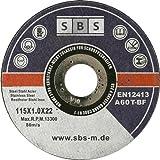 10 Stück SBS Inox Trennscheiben Flexscheiben 115 x 1,0 mm