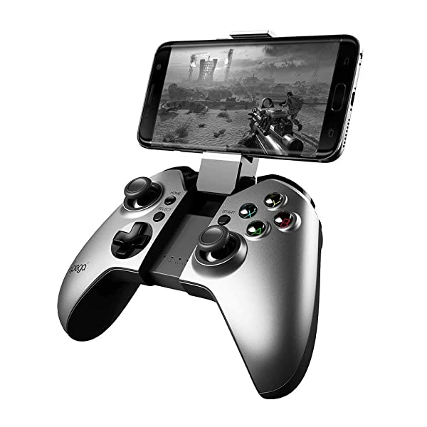 IPEGA PG-9062S Dark Fighter Wireless Joystick Gamepad Controller for Android Tablet TV Box Android phnoe  Samsung  S8, S9 Note 8 HUAWEI P20 vivo x21 OPPO A3R 15 (Color: PG9062)