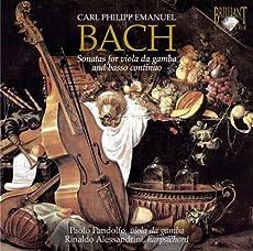 Sonatas for Viola Da Gamba & Basso Continuo