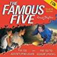 Five Go Adventuring Again. 2 CDs: And Five Go to Demon's Rocks (Famous Five)