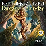 img - for Boris Vallejo & Julie Bell Fantasy 2013 Calendar book / textbook / text book