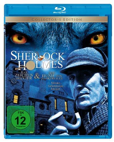Sherlock Holmes: Der Hund von Baskerville & Im Zeichen der Vier [Blu-ray] [Collector's Edition]