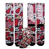 Miami Heat 308S Montage Mens Crew Socks