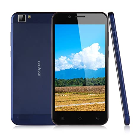 ZOPO ZP1000 HD 1080P IPS Grande Ecran 5,0 Pouce 1Go RAM+16Go ROM Octa Core 3G Smartphone Android 4.4 KitKat MTK6592 1,7GHz Dual caméra 14.0 mégapixel d¡¯arrière 5.0 mégapixel caméra frontal 3G Smartphone WIFI