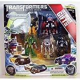 Transformers 3 Dark Of The Moon Exclusive Cyberverse Legion Ultimate Gift Pack Optimus Prime Powerdive Sideswipe...