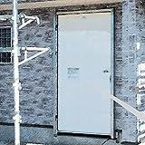 YKKAP 断熱玄関ドア 工事期間専用ドア スマートドアヴェナート:両開き用子扉[幅806mm×高2312mm]