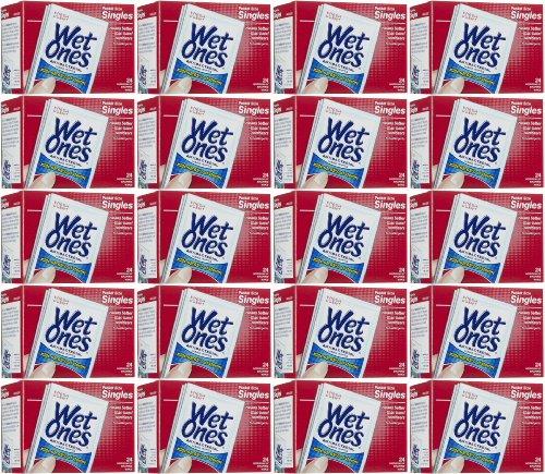 Wet Ones Antibacterial Wipes Fresh Scent Singles 480Ct (20 X 24Ct) front-912752