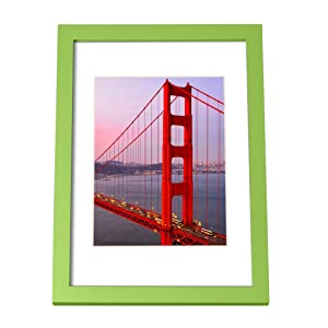 Bojin Wooden Picture Frames 11x14 Without Mat Red Wood