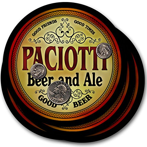 Paciotti Beer & Ale - 4 pack Drink Coasters st peter s golden ale