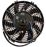 汎用 薄型ラジエター用電動ファン 12V 9インチ ラジエーター ラジエターファン 冷却ファン プル クーリング