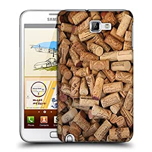 Snoogg Bottle Cork Designer Protective Back Case Cover For Samsung Galaxy Note 1