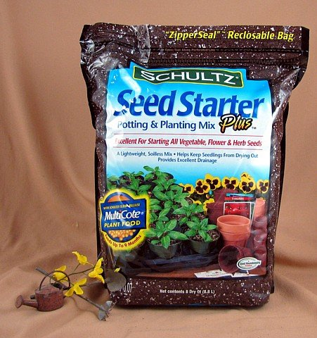 Schultz Seed Starter Plus -With Slow-Release Plant Food - Buy Schultz Seed Starter Plus -With Slow-Release Plant Food - Purchase Schultz Seed Starter Plus -With Slow-Release Plant Food (Hirt's Gardens, Home & Garden,Categories,Patio Lawn & Garden,Plants & Planting,Soils Fertilizers & Mulches,Soils,Potting Soils)