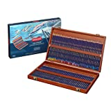 Derwent Colored Pencils, Inktense Ink Pencils, Drawing, Art, Wooden Box, 72 Count (2301844) (Tamaño: 72 Count)