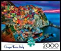 Buffalo Games 2000 piece: Cinque Terre - 2000 Piece Jigsaw Puzzle by Buffalo Games from Buffalo Games