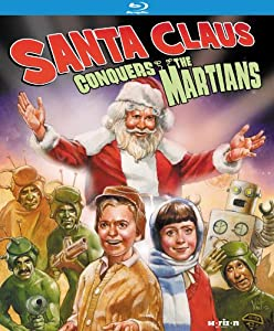 Santa Claus Conquers The Martians Remastered Edition Blu-ray from Kino Lorber