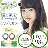 ネオサイトワンデーリングUV(5枚入)【BC】8.6【カラー】リアルブラウン【PWR】-3.50