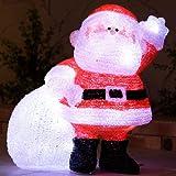 クリスマス 3Dモチーフライト サンタクロース