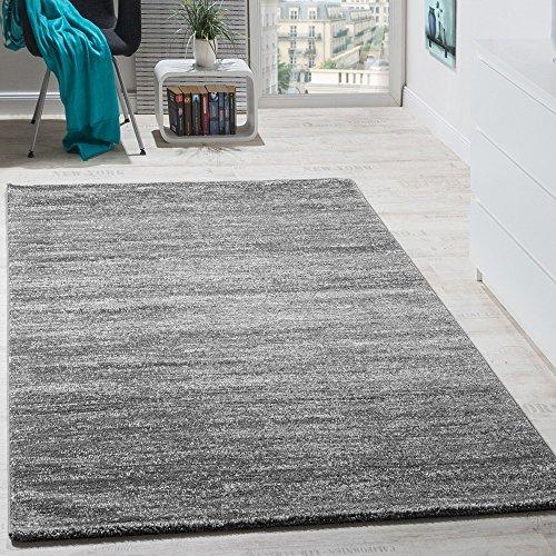 teppich-modern-wohnzimmer-kurzflor-gemuetlich-preiswert-meliert-in-grau-creme-groesse60x100-cm