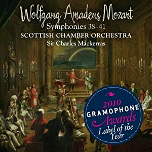 Mozart Symphonies 38 Through 41