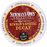 Newmans Own Organics Newmans Special Decaf K-Cup Coffee, 48 Count