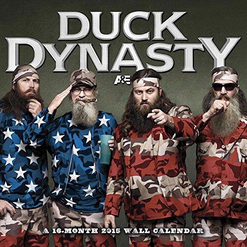 Duck Dynasty 2015 Wall Calendar