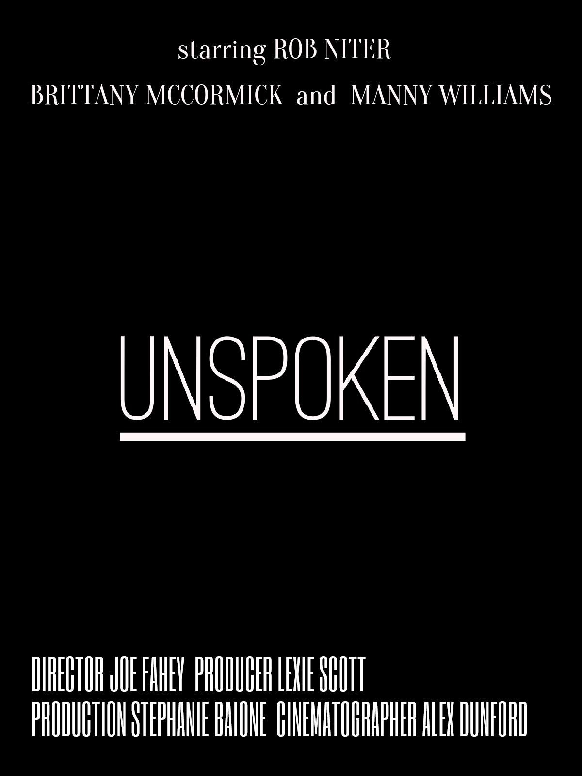 Unspoken on Amazon Prime Instant Video UK