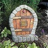 Cast Resin Fairy Garden Door - 8 1/2