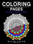 Coloring Pages for Adults Black Page:...
