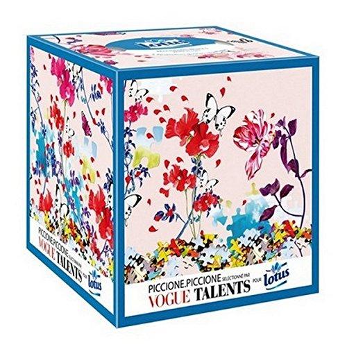 lotus-blanc-mouchoirs-boites-cubiques-x-48-lot-de-4