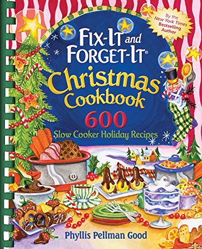 Fix-it and Forget-it Christmas Cookbook: 600 Slow Cooker Holiday Recipes (Crock Pot Potato compare prices)