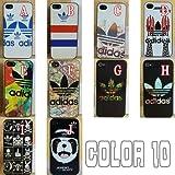adidas Originals アディダス 型押し ロゴデザイン スマートフォンケース iphone5 ケース iphone5S ケースcase 10color (ad004 iphone5/5S) (G TYPE)