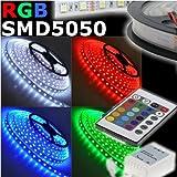 Striscia LED 16 colori RGB 5M ...