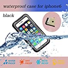 Nancy's Shop Waterproof Shockproof Dustproof Snowproof Protective Case Cover For Iphone 6 (4.7 Inch) (2 - Black)