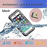 Nancys Shop Waterproof Shockproof Dustproof Snowproof Protective Case Cover For Iphone 6 (4.7 Inch) (2 - Black)