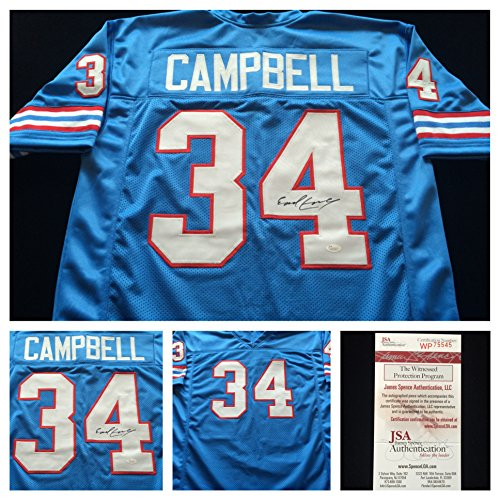 earl-campbell-houston-oilers-signed-autograph-blue-jersey-jsa-coa