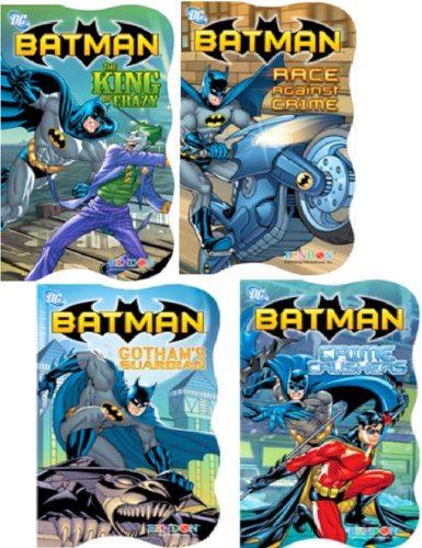 DC Comics Batman® Board Books - Set of Four