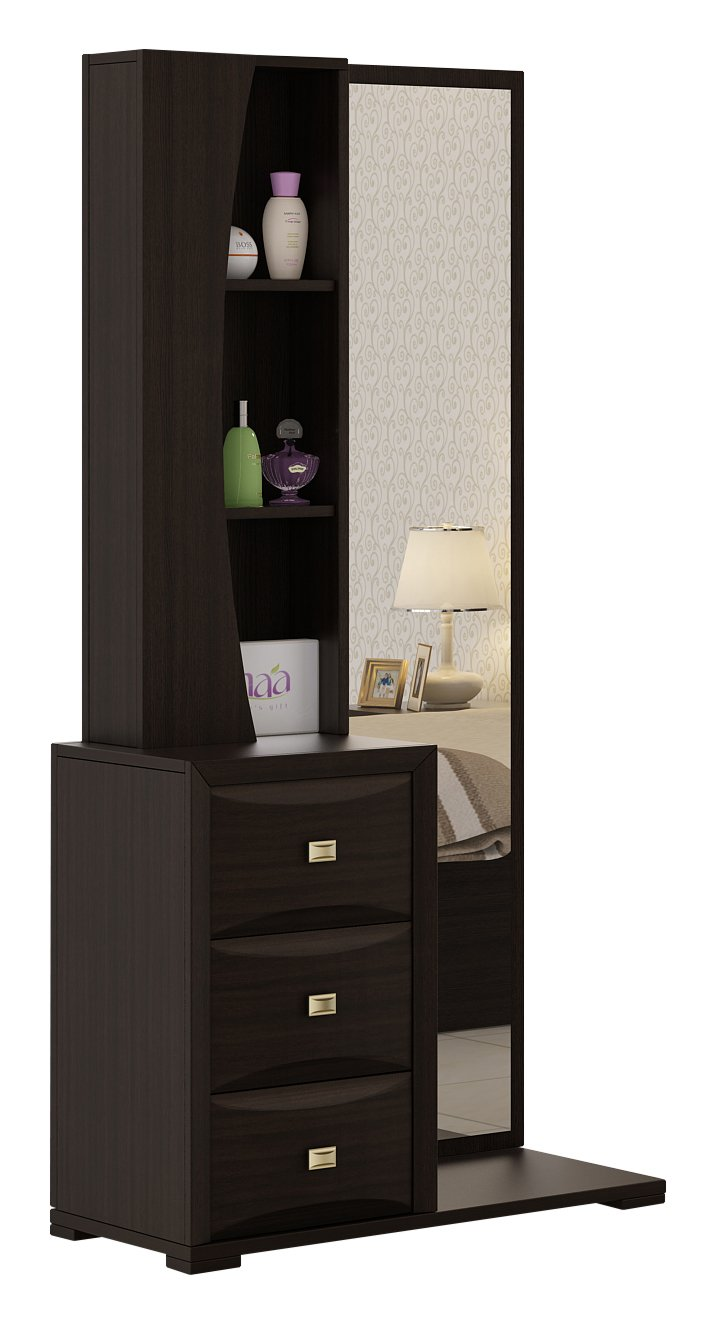 Spacewood Helix Dressing Table Brown Furniture Online