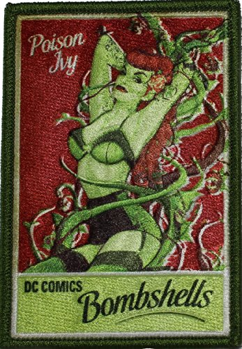 Batman P-DC-0091 DC Comics Poison Ivy Patch - 1