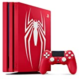Playstation 4 Pro 2TB SSHD Limited Edition Console - Marvels Spider-Man Bundle Enhanced with Fast Solid State Hybrid Drive