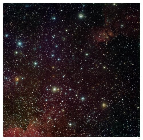 "Astronomy Poster - Eso - Eso0921C - Around The Arches Cluster - 24.5""X24"""