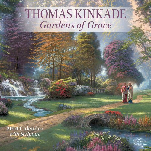 Thomas Kinkade Gardens of Grace  Scripture 2014